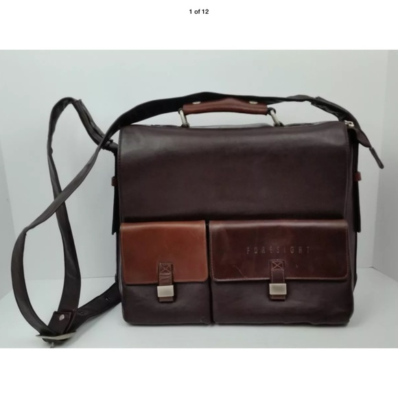 Authentic Foresight Leather Bag
